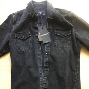 Zara Black Jean Jacket